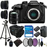 Panasonic Lumix DC-GH5 Mirrorless Micro Four Thirds Digital Camera + Panasonic Lumix G X Vario 12-35mm F/2.8 II Aspherical Power O.I.S. Lens + Pixi-Advanced Bundle
