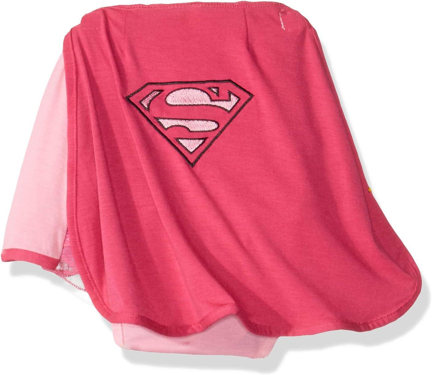 Mujer DC Comics S Logo Supergirl De Manga Larga Top /& Pantalones Pijamas Tallas 6 to12