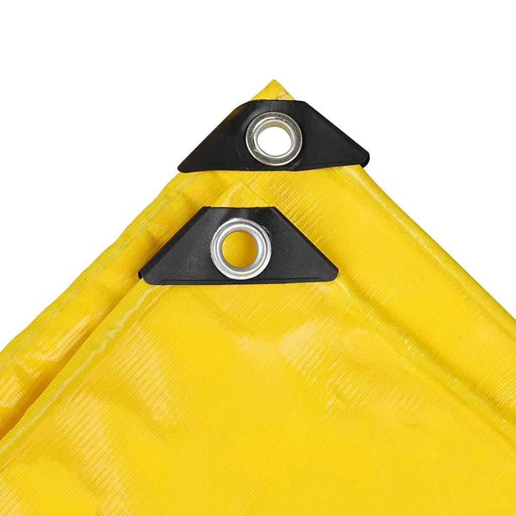 Heavy Duty Giallo Telone Protezione Solare Spessa Resistente all'Usura Teloni Resistente ai Raggi UV Impermeabile Telo di Copertura per Tende da Sole qualità Premium Telo di Protezione