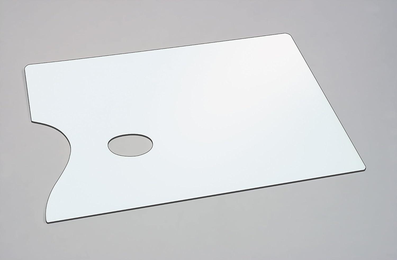Jakar Artist Mixing Paint Palette White Rectangular Flat 38 X 28cm