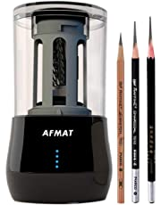 Long Point Pencil Sharpener, Professional Electric Pencil Sharpener, Heavy Duty Art Drawing And Sketching Rechargeable Pencil Sharpener, Artists Supplies for Prismacolor Colored & Soft Carbon Pencils