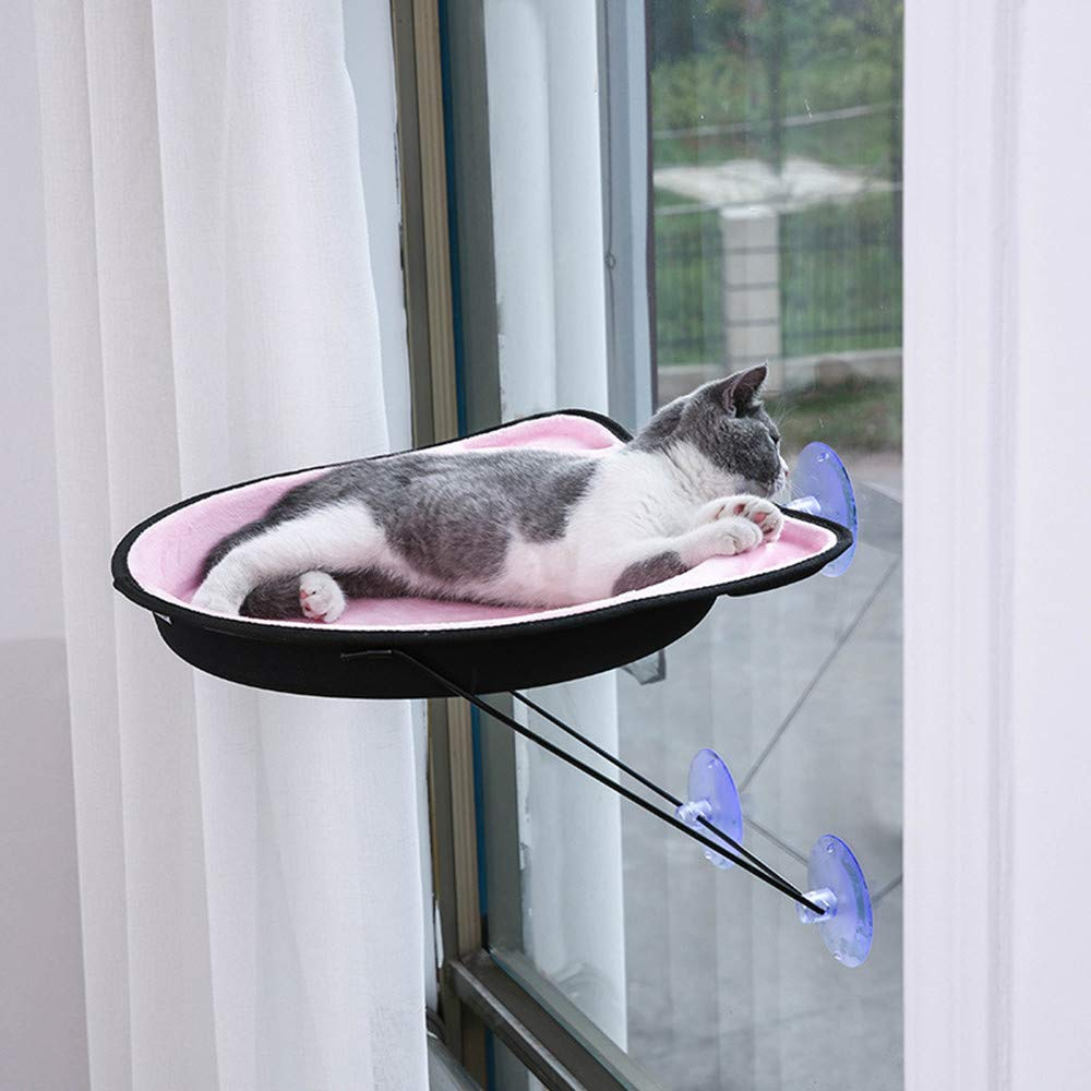 Cat Window Perch Hammock Suction Cups Cat Bed Upgraded 360 Degree Sundeck Cat Perch Sunny Seat by XinC