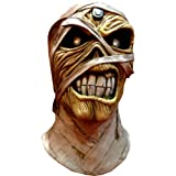 Trick or Treat Studios Iron Maiden Powerslave Full Head Mask, Beige, One-Size (Color: Multi, Tamaño: One-Size)