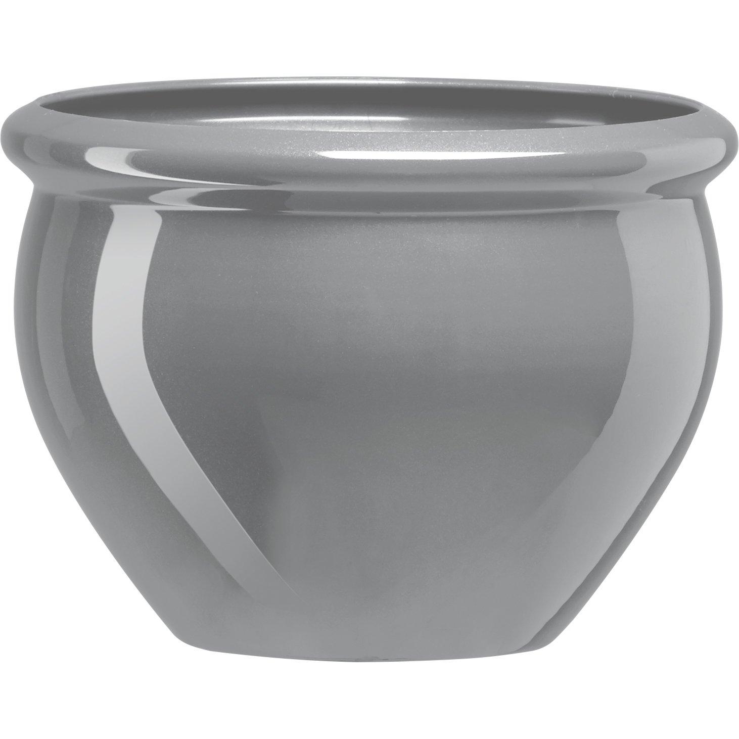 Emsa 501869 SIENA NOBILE round planter, ø 26 x 19 cm, anthracite Emsa (FO)
