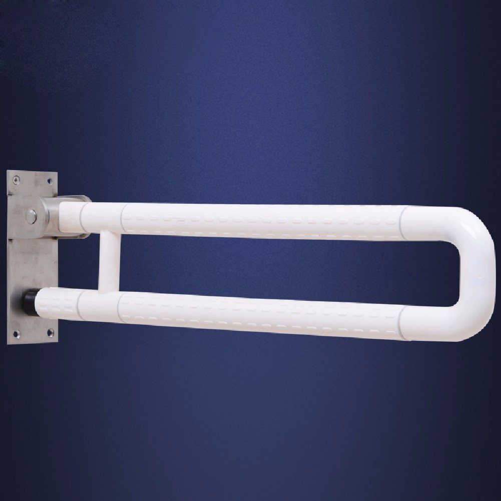 MDRW-Safety Handrail Barrier Free Toilet Folding Armrest Disabled Old Man Bathroom Toilet Safe Anti-Skid Handrail 600Mm