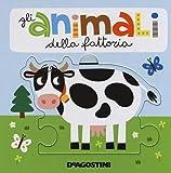 Gli animali della fattoria. Libro puzzle. Ediz. a colori