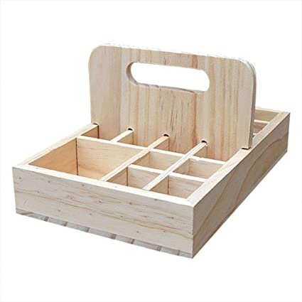 colinsa Make-up etuis aceite esencial Caja aceite de almacenar Caja de madera caja aceite esencial de pantalla caja: Amazon.es: Belleza