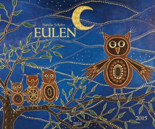 Eulen 2015: Kunst Art Kalender