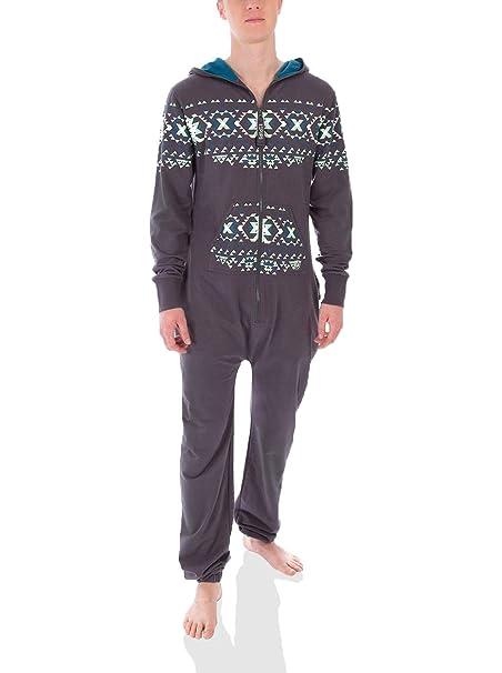 Zipups Mono-Pijama Gris XS