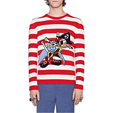 Ectic Unisex Adult Homme Mens Women Pirate Donald Duck Wool Pulls