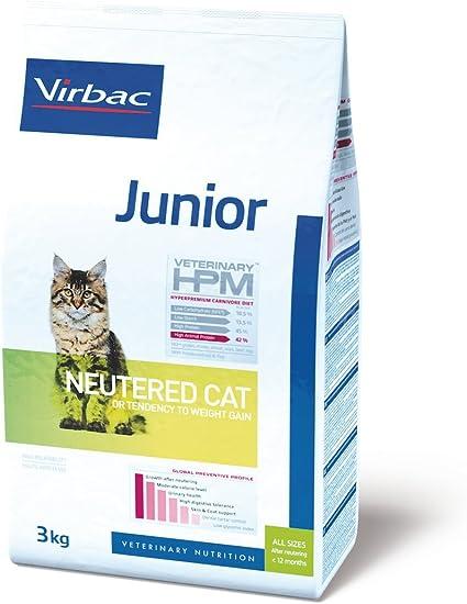Hpm Virbac Feline Junior Neutered 3Kg 3100 g