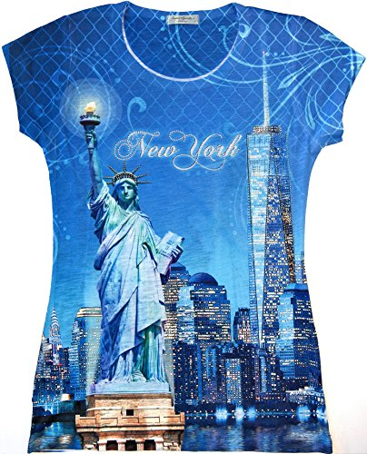 New York City T-shirt (Graphic) Multicolor -