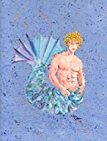 Cheap Caroline's Treasures 8347CHF Merman Flag Canvas, Large, Multicolor