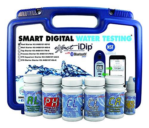 eXact iDip Photometer 486101-KP Pool Starter Kit without ()