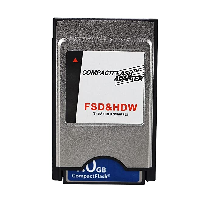 Amazon.com: JUZHUO Pcmcia - Adaptador de flash compacto CF ...