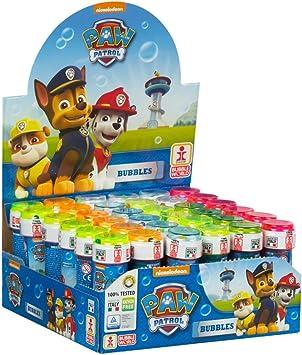 ColorBaby - Paw Patrol Pomperos de jabón, 36 unidades (ColorBaby 76865): Amazon.es: Juguetes y juegos