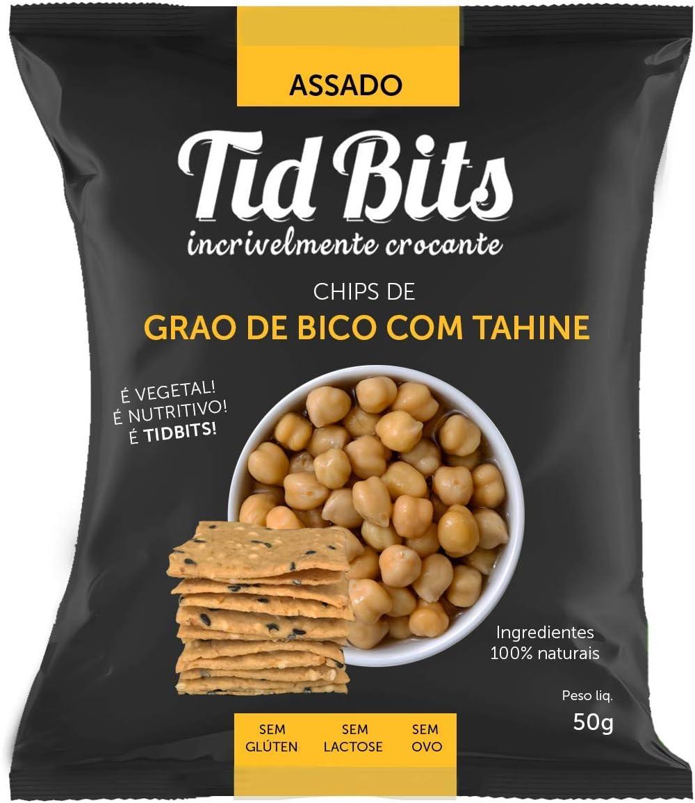 Chips de Grão de Bico com Tahine, TidBits