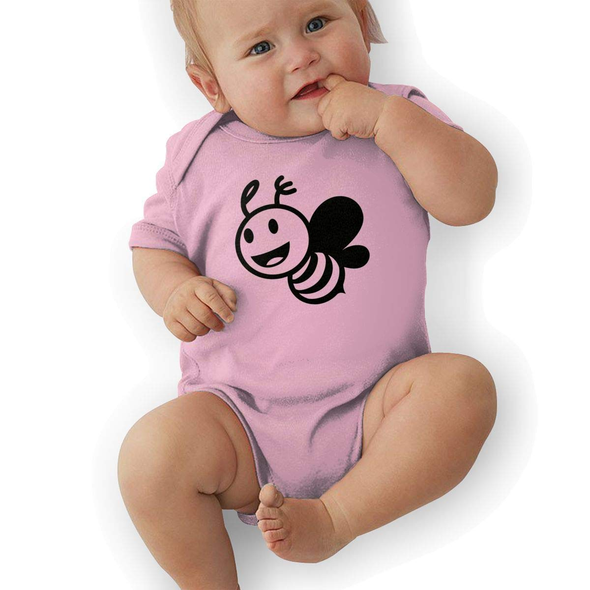 leihaeg Honey Bee Cartoon Baby Onesies Toddler Baby Girl//Boy Unisex Clothes Romper Jumpsuit Bodysuit One Piece