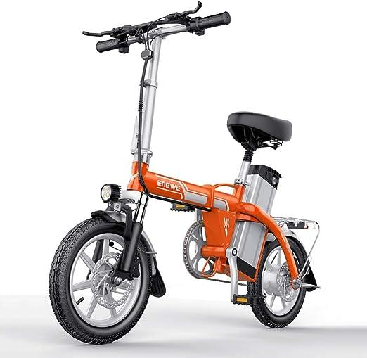 Bicicletas Eléctricas 14pulgadas 400W Bicicleta Eléctrica Plegable ...