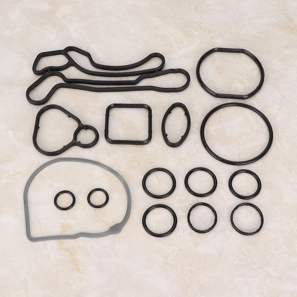 15 piezas Junta t/órica del sello de la junta del enfriador de aceite del motor 55354071 Junta del enfriador de aceite del motor