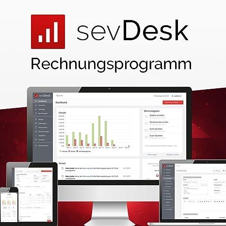 Sevdesk Rechnungsprogramm 1 Jahreslizenz Online
