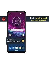 Motorola One Action with Alexa Push-to-Talk - Unlocked Smartphone - Global Version - 128GB - Denim - Verizon, AT&T...