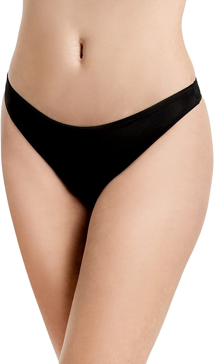 Sofra Womens Basic Thong Panty