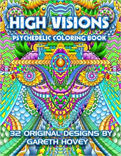 Amazoncom High Visions Psychedelic Coloring Book 9781533226242