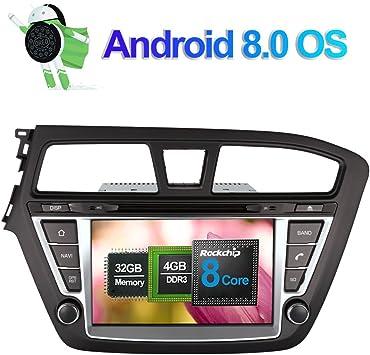 Android 8 0 Autoradio Stereo 4gb Ram Gps Navigation Für Elektronik
