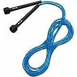Corda de Pular Muvin Basics Tamanho Ajustável PVC - Saltos Velocidade Exercícios Treino Funcional Crossfit Academia - Tamanho