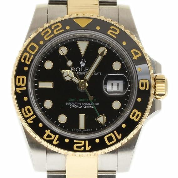 Rolex GMT Master II swiss-automatic Mens Reloj 116713 (Certificado) de segunda mano