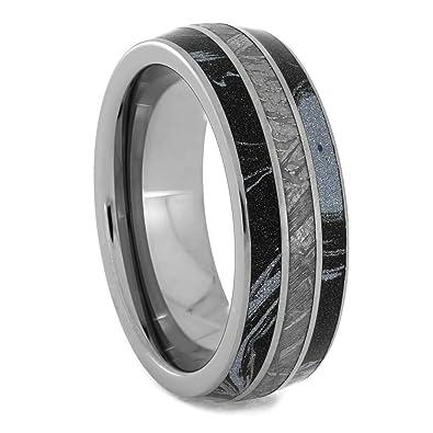a89bf07270e Jewelry By Johan Cobaltium Mokume and Meteorite Ring