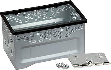 Sandtone Kit de instalación de Audio estéreo para Coche, Universal, de Hierro, Jaula de Seguridad con Marco para Reproductor de DVD de Coche de Doble DIN 2 DIN.: Amazon.es: Electrónica
