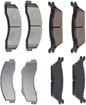 2013 2014 For Ford F-150 Front Ceramic Brake Pads