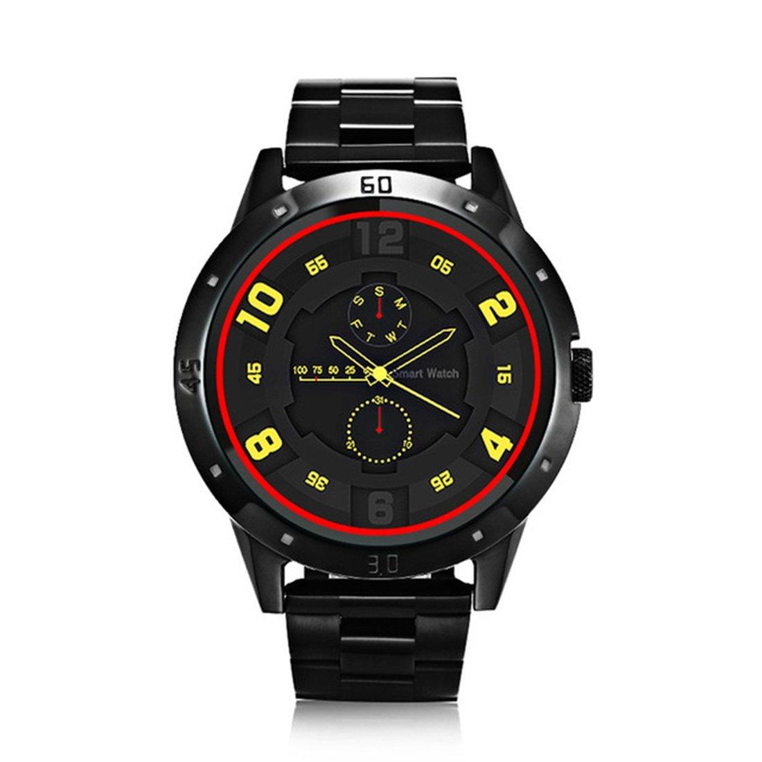 Amazon.com: PINCHU DI02 Smart Watch Heart Rate Monitor Two ...