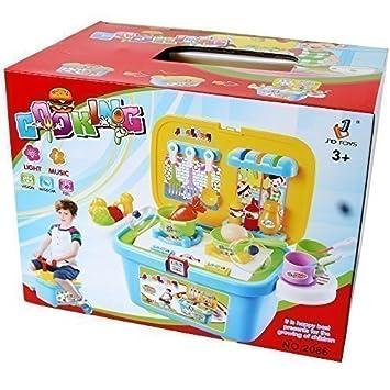 Te Trend Cuisine Pour Enfants Mobile Compact Cuisine Jouets Boite