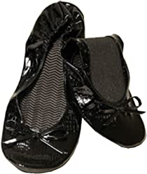release date: db70b 34367 Kushyfoot Flats to Go Black Alligator Size 7-8