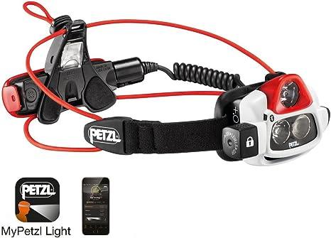 Petzl NAO+ E36AHR 2B - Linterna frontal, color blanco: Amazon.es ...