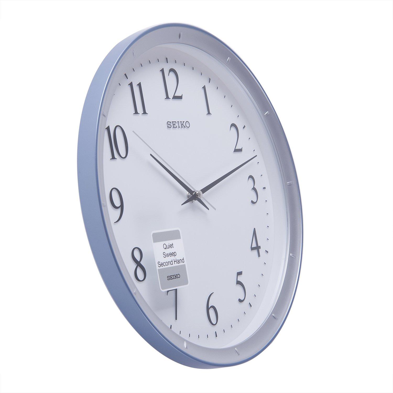 Buy seiko wall clock 311 cm x 311 cm x 44 cm white qxa378ln buy seiko wall clock 311 cm x 311 cm x 44 cm white qxa378ln online at low prices in india amazon amipublicfo Gallery