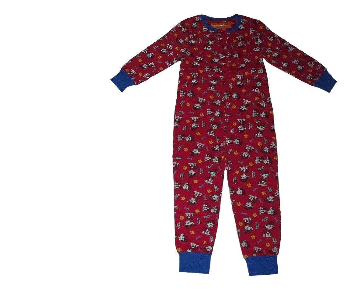 Paw Patrol Boys Onesie Pyjamas 2 3 4 5 & 6 Years Old Red