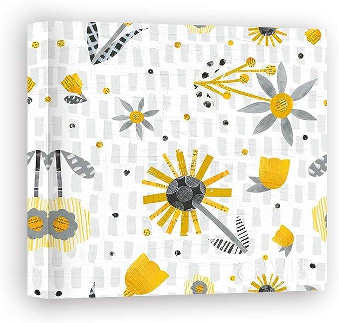 Impresión sobre Lienzo Wall Art Averinos Melissa Bloom Boldly Pattern IX: Amazon.es: Hogar