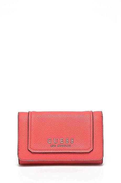 Guess - Cartera para mujer de poliuretano Mujer Rosa rosa talla única: Amazon.es: Zapatos y complementos