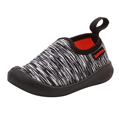 3bec25cc2f0 Byste Children Kid Baby Striped Print Sport Sneaker Running Canvas Casual Shoes  Boys Girls Canvas Elastic Slip On Slouch Shoes Unisex Kids Round Toe Anti  ...