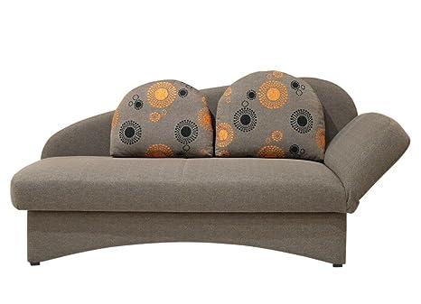 Divano Arancione E Marrone : Nehl 7402 368 divano letto gommapiuma penna nucleo rivestimento