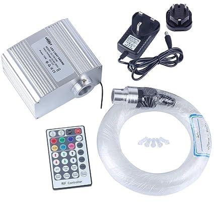 CHINLY 10 W RGBW Twinkle 28key remoto LED de fibra óptica ...