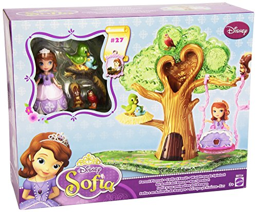 Disneys Sofia the First Forest Playset Works with Magical Ta