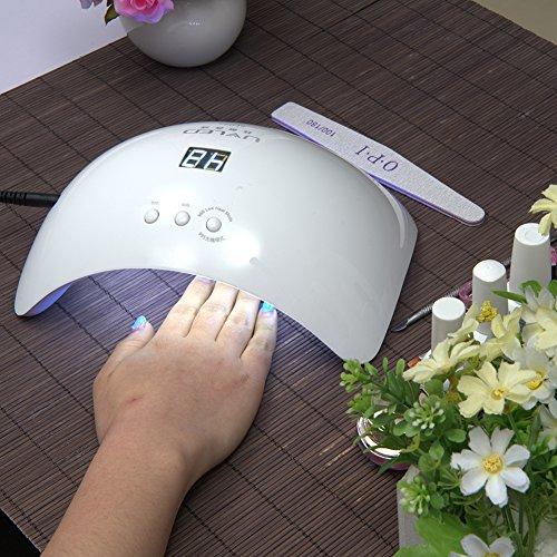 Uv Sèche Eleacc Lampe Ongles Pro Auto Led Détection Intelligent QrdexCBoWE