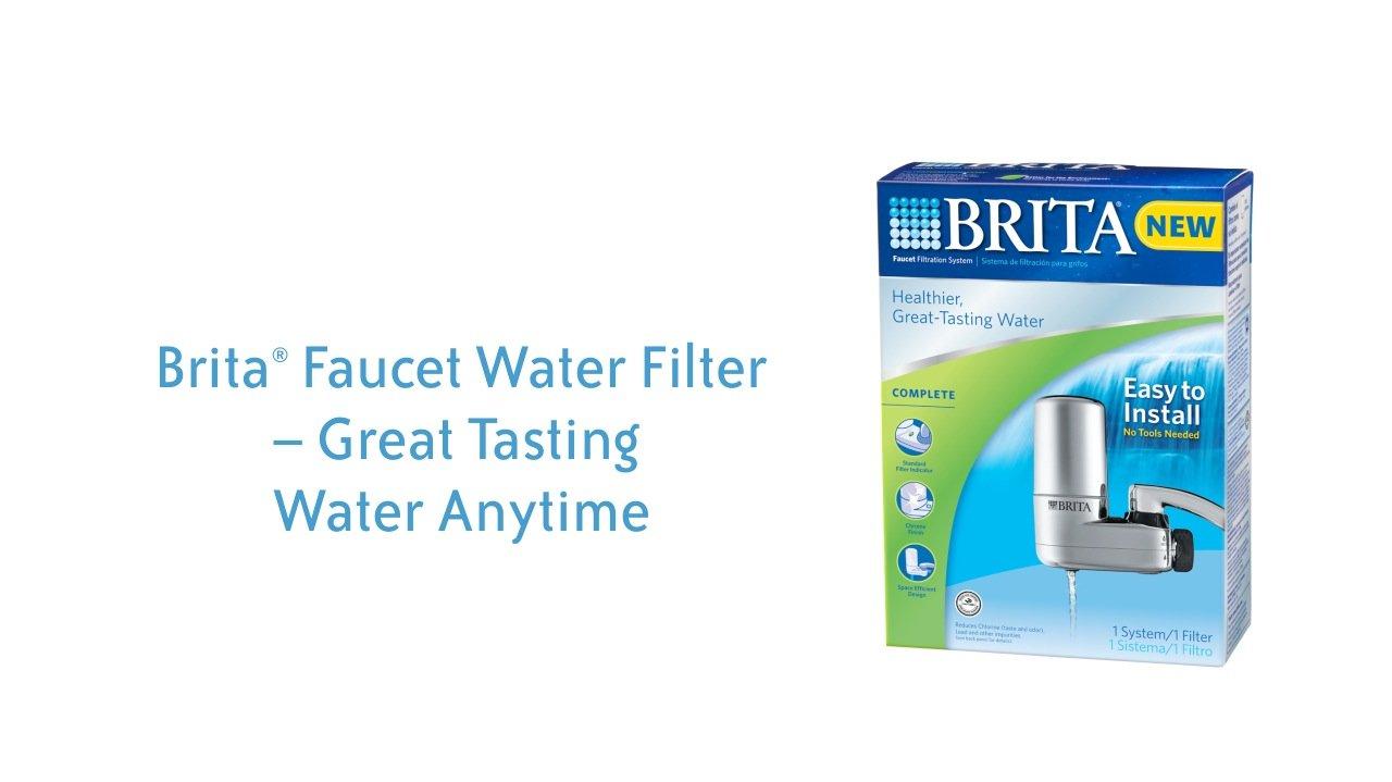 brita faucet filter replacement instructions