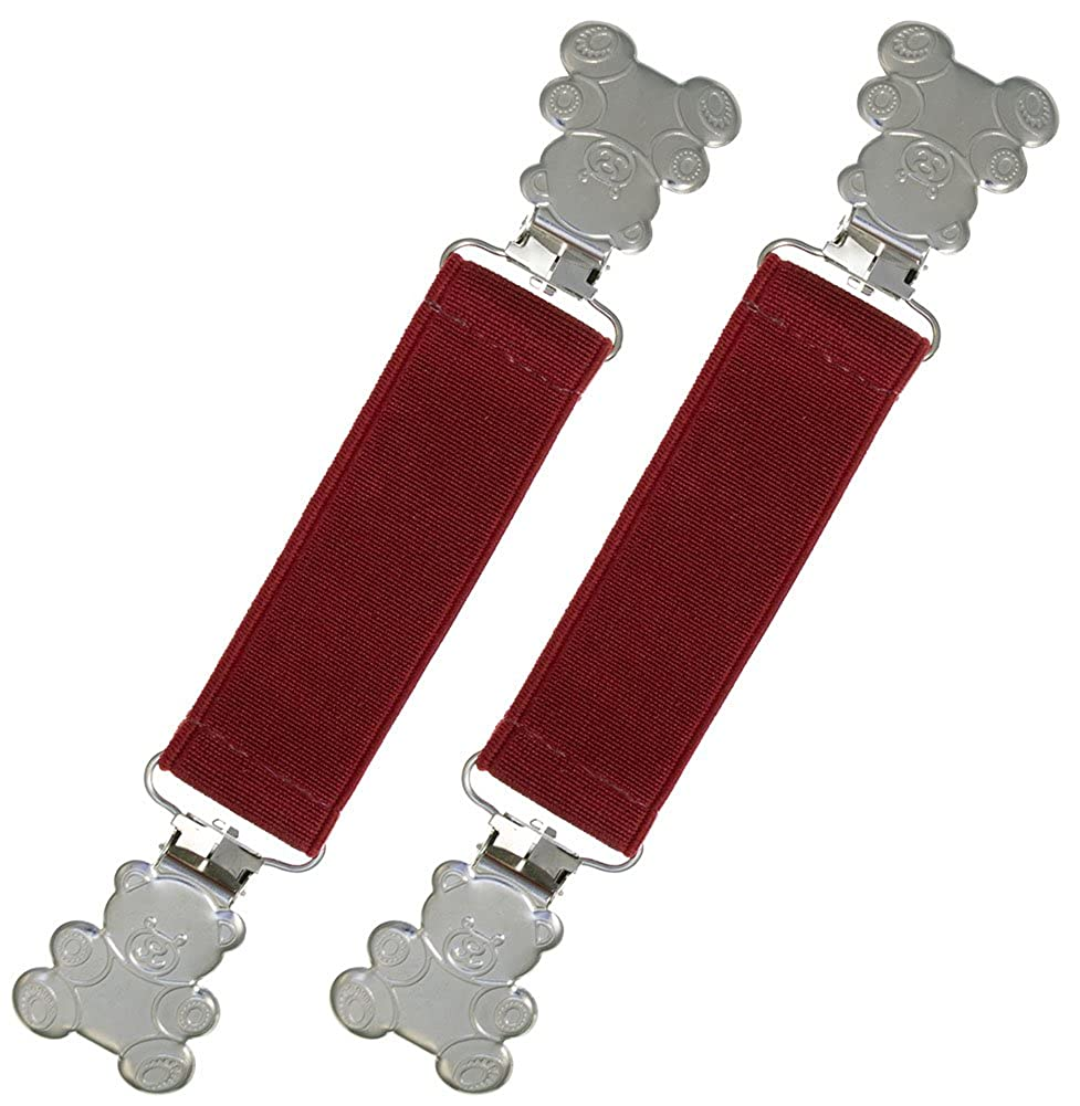 Best Warranty! Extra Strong Elastic Teddy Bear Glove and Mitten Clips
