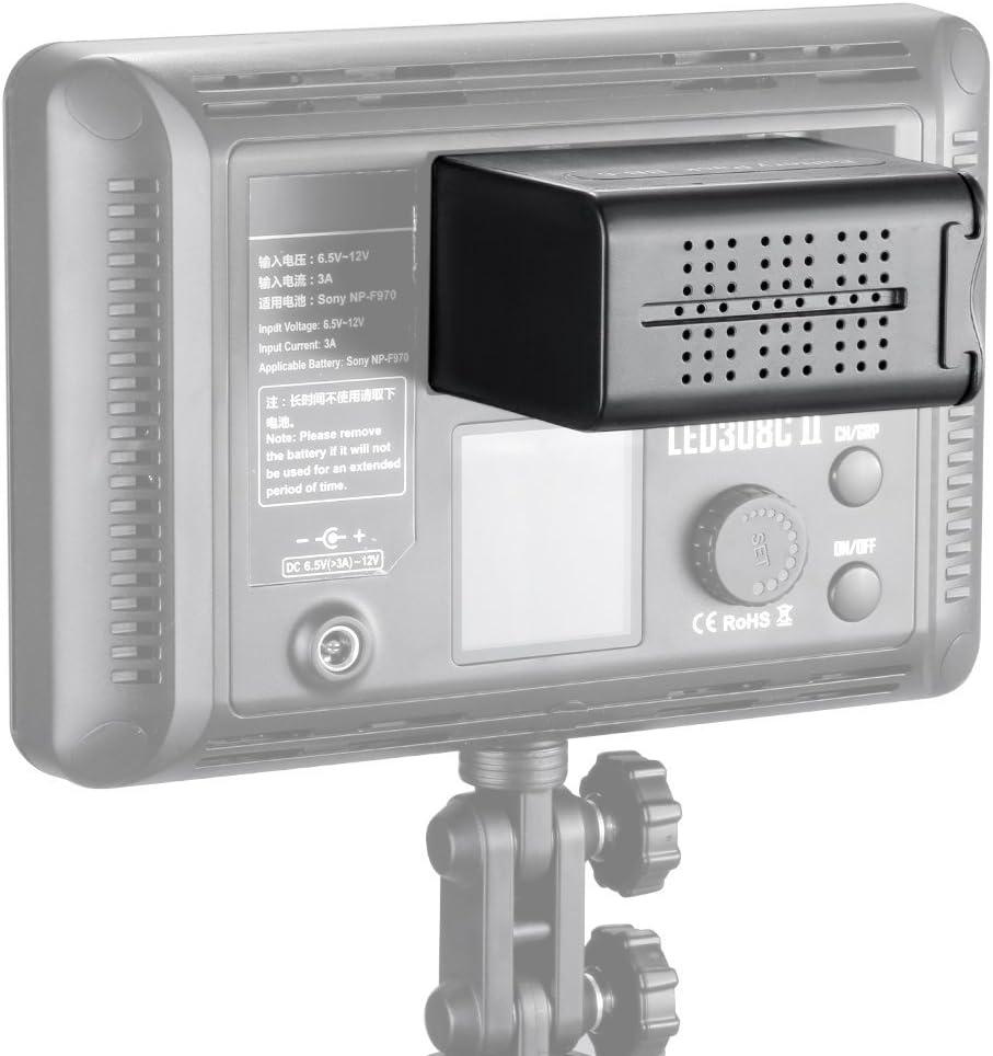 جراب Neewer 6 قطع AA لحزمة بطارية بديلة مثل NP-F970 F550 لأجهزة Neewer 308C، TTV-204، Pad-22 وغيرها من ضوء الفيديو LED أو بطارية احتياطية